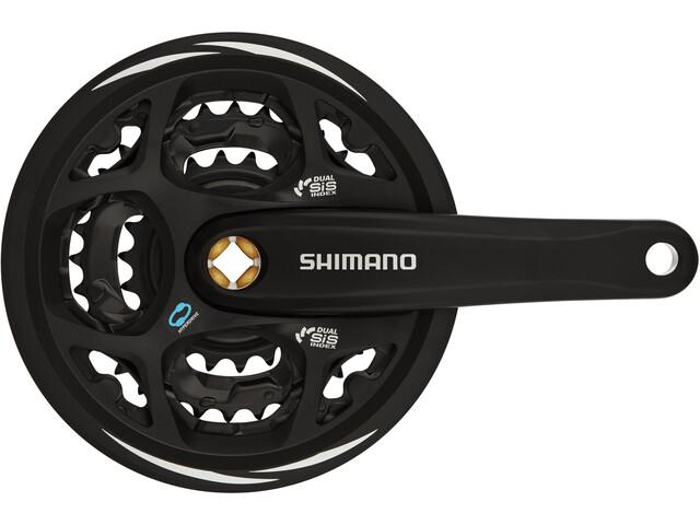 Shimano Altus FC-M311 Crankset 42/32/22, black